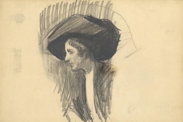 1911-sorolla-mujer-con-sombrero